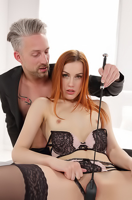 Redhead Slut Charlie Red Ride Hard Cock